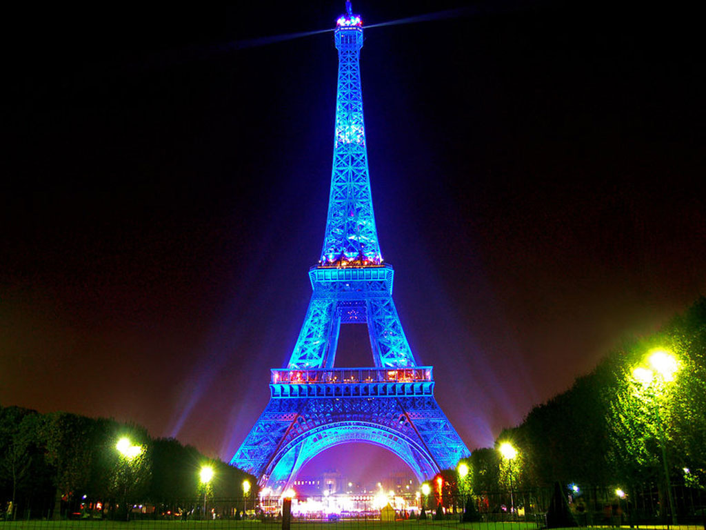 Eiffel Tower Night HD Wallpapers -5547